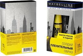 Подарочный <b>набор Maybelline New York</b> Тушь для ресниц The ...