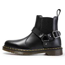 <b>NEW</b> Dr MARTENS <b>buckle</b> wincox chelsea flora Leather Ankle ...