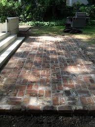 paving mcnear rustic brick patio  ideas about brick patios on pinterest patio brick pavers and small br