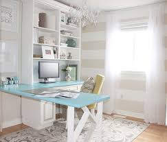 bright home office design. sabrinau0027s bright cozy and a dash of glam home office design 1