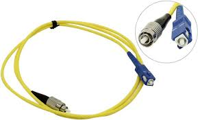 <b>Сетевой кабель VCOM Optical</b> Patch Cord LC-SC UPC Simplex 1m ...