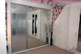 bedroom winsome closet: winsome closet doors on beige tile as wells as mirrored sliding closet doors on beige tile