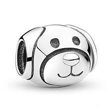 <b>Authentic</b> Devoted Dog <b>Charm</b> 925 Sterling Silver <b>Charms Fit</b> ...