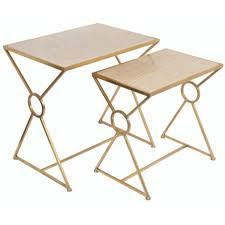 marble dining table adecc: cambridge  piece marble nesting tables