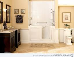 ideas bathroom tile color cream neutral: vintage cabinets  walk in generation vintage cabinets