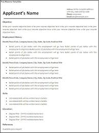 t free resume formats  seangarrette cofree resume template free resume templates microsoft word
