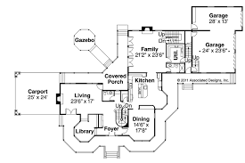 Victorian House Plans   Victorian     Associated DesignsVictorian House Plan   Victorian     st Floor Plan