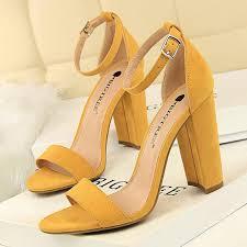 2019 <b>Women</b> Pumps Sexy <b>High Heels New Women</b> Shoes Block ...