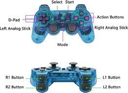 Wireless <b>Controller</b> for PS2, <b>2.4G</b> Dual <b>Vibration</b> Game <b>Controller</b> ...