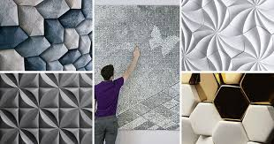 25 Creative <b>3D Wall Tile Designs</b> To Help You Get Some Texture On ...