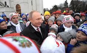 Vladimir Putin met with children attending Kremlin <b>New Year Party</b> ...