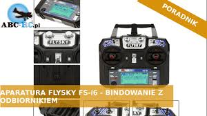 Aparatura <b>FlySky FS</b>-i6 - bindowanie z odbiornikiem - ABC-RC.PL ...