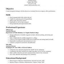 objective for entry level customer service resume objective for     Resume Job Skills