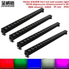 <b>Free Shipping 4pcs</b>/Lot <b>High</b> Brightest 18X4W RGBW 4IN1 LED ...
