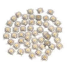 <b>250Pcs DC12V 4</b> Pins Tact Tactile Push Button Momentary SMD ...