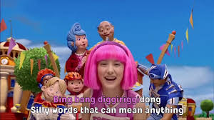 Lazy Town | <b>Cooking</b> By The Book | Music Video | Kids Karaoke ...