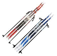 <b>Лыжи с креплением 75мм</b> «Соболь», 200см + палки - купить по ...