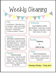 """images about fly lady on Pinterest   Flylady  Cleaning    Free  quot Weekly Cleaning quot  Printable  This cleaning schedule makes for an easy """"spring"""