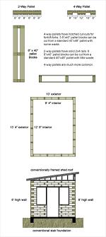 Construct Your Own House  Tiny Pallet House Plans   PalletsPallet House Design Plans