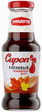 <b>Пиканта сироп кленовый</b>, 300 г: продажа, цена в Челябинске ...
