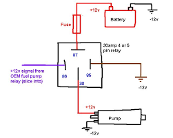 4 pin relay wiring diagram driving lights images hid driving pin relay wiring diagram fuel pump also 4 on