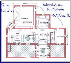 a straw bale house plan  butch  Cross   sq  ft  Cross   sq  ft