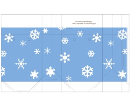 printable templates holiday snowflake gift tags treat and printable template christmas winter holiday carrier gift bags snowflakes on blue sky