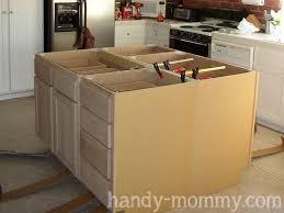 build kitchen island sink: handy mommy diy kitchen island  handy mommy diy kitchen island