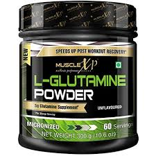 MuscleXP Micronized <b>L</b>-<b>Glutamine Powder</b> - 300Gm (10.6 Oz ...