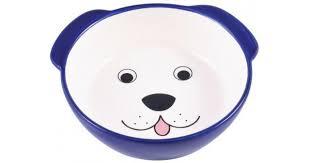 🥇 <b>КерамикАрт миска керамическая для</b> собак 180 мл Мордочка ...