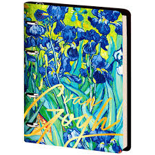 <b>Тетрадь Greenwich Line Vision</b>. Van Gogh. Irises, А5, на кольцах ...