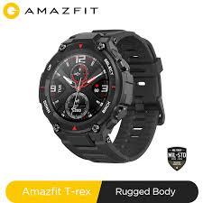Новинка 2020 CES <b>Amazfit</b> T rex T-rex <b>умные часы</b> Contrl Music ...