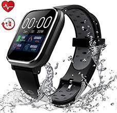 <b>2020 New Smart</b> Watch Waterproof IP68 Smart Bracelet: Amazon.de ...