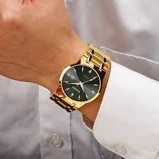 WWOOR <b>Men Watches 2020</b> Luxury Brand Gold Full Steel <b>Quartz</b> ...