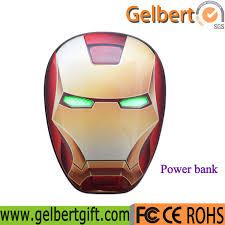 China <b>Newest</b> Avengers <b>Superheroes Iron</b> Man Portable Power ...