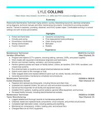 maintenance technician maintenance and janitorial sample resume    maintenance technician maintenance and janitorial sample resume for hvac tech