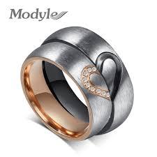 Modyle 2019 <b>New Fashion Love Heart</b> Couple Rings for Women ...