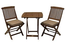 eucalyptus piece square bistro furniture set amazoncom outdoor interiors eucalyptus  piece square bistro outdoor fu
