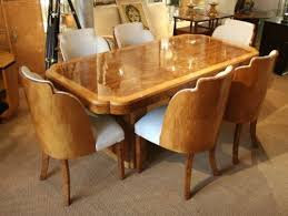 epstein art deco dining table and chairs art deco dining suite