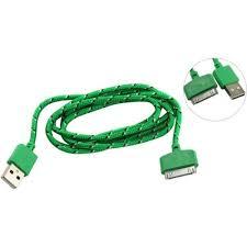 <b>Кабель</b> для iPhone 4 / 4S USB 2.0 A -> 30pin Smartbuy iK-412n 1.2 ...