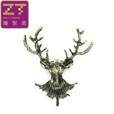 Hot <b>Fashion European And American</b> Retro Longhorn Deer Elk ...