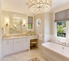 bathroom lighting chandelier elegant additions with a lattice patterned shade chandelier astro lighting evros light crystal bathroom