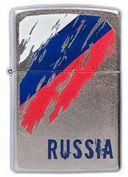 <b>207 Russia Flag</b> (CI005733) - <b>Зажигалка Zippo</b>