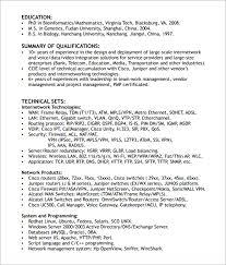 network engineer resume templates   download documents in pdf    network engineer resume format pdf