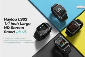 <b>Haylou LS02 1.4</b>-inch HD Screen SmartWatch Offered For $31.99