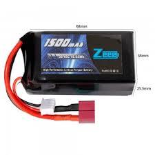 <b>Аккумулятор Zeee Power</b> LiPo 11.1V <b>3S</b> 45C 1500mAh Soft (T-Plug ...