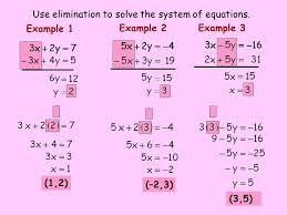 Solve The System Of Equations Using Elimination - Jennarocca