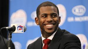 ... Chris Paul Twin Chris paul smiles at a press ... - chris-paul