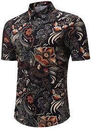Tiitstoy <b>Mens</b> 2019 Fashion New Shirts <b>Summer</b> Printed Blouse ...