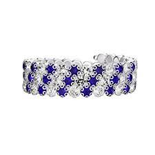 <b>1Pcs Multi</b>-Strand Sparkly Rhinestone Stretch Bracelet Elegant ...